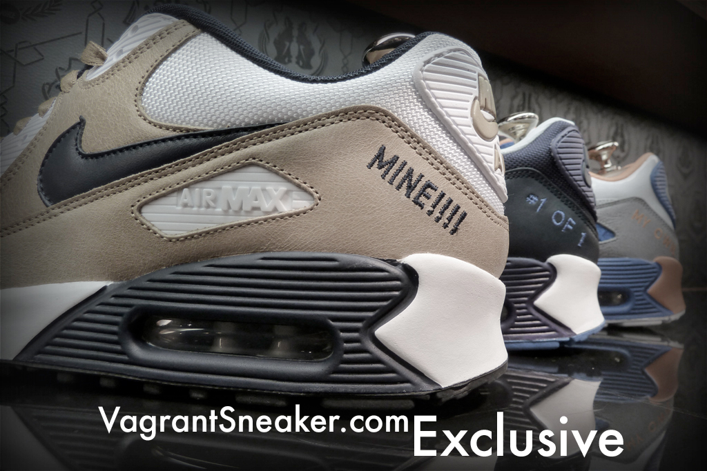 Exclusive: Nike Air Max 90 iD Fall 2010 Samples | Vagrant