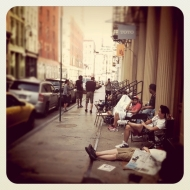 Event: Nike 21 Mercer Queue For Air Flow And Air Foamposite ProLaunch
