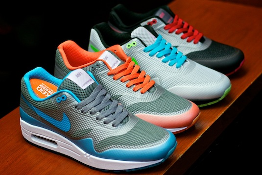 Nike Air Max 1 Hyperfuse Grey Volt Shoes