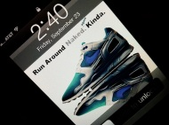 "Wallpaper: Nike Air Flow ""Emerald"" Retro 2011 For iPhone"