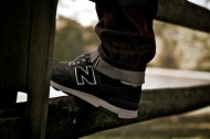 "Worn: New Balance x J.Crew 1400 ""Military Grey"""