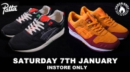 Event: Patta x Asics Gel Saga and Hanon x Asics Gel Lyte lll Wildcats Stash Launch
