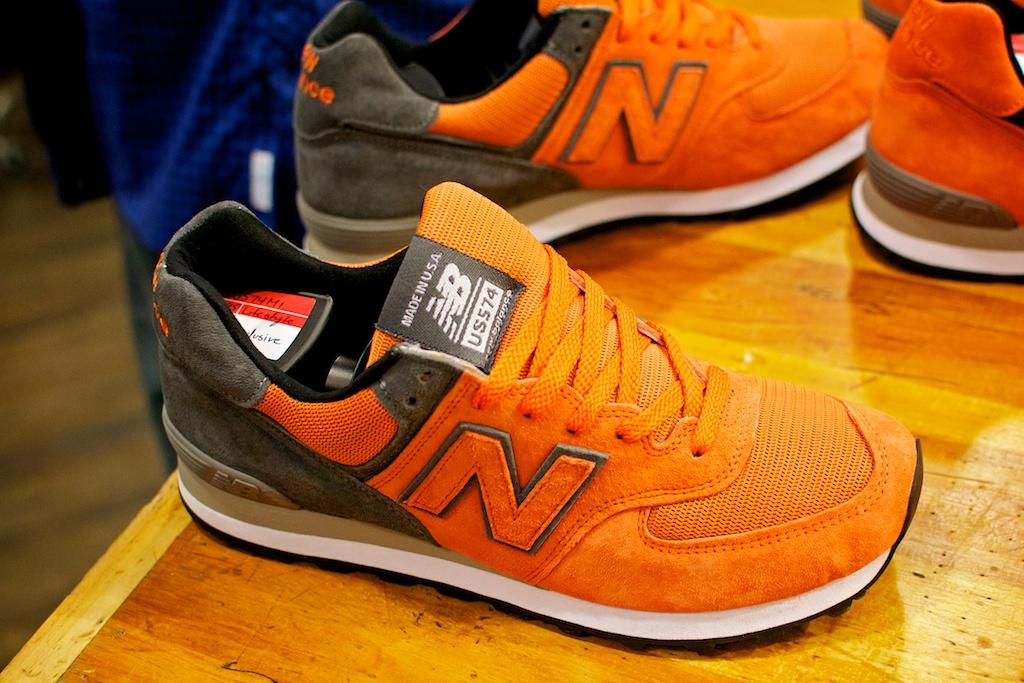 new balance 993 orange