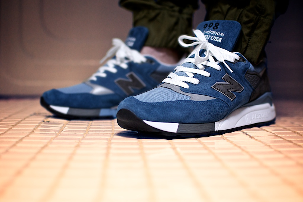 new balance 515 on foot
