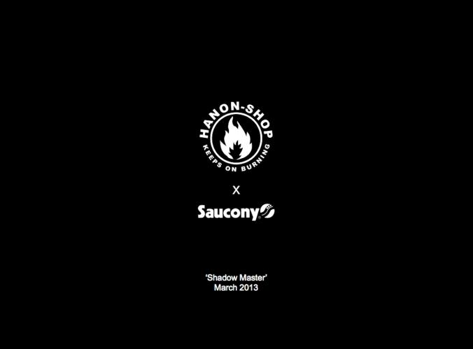 "Saucony x Hanon-Shop ""Shadow Master"" 10"