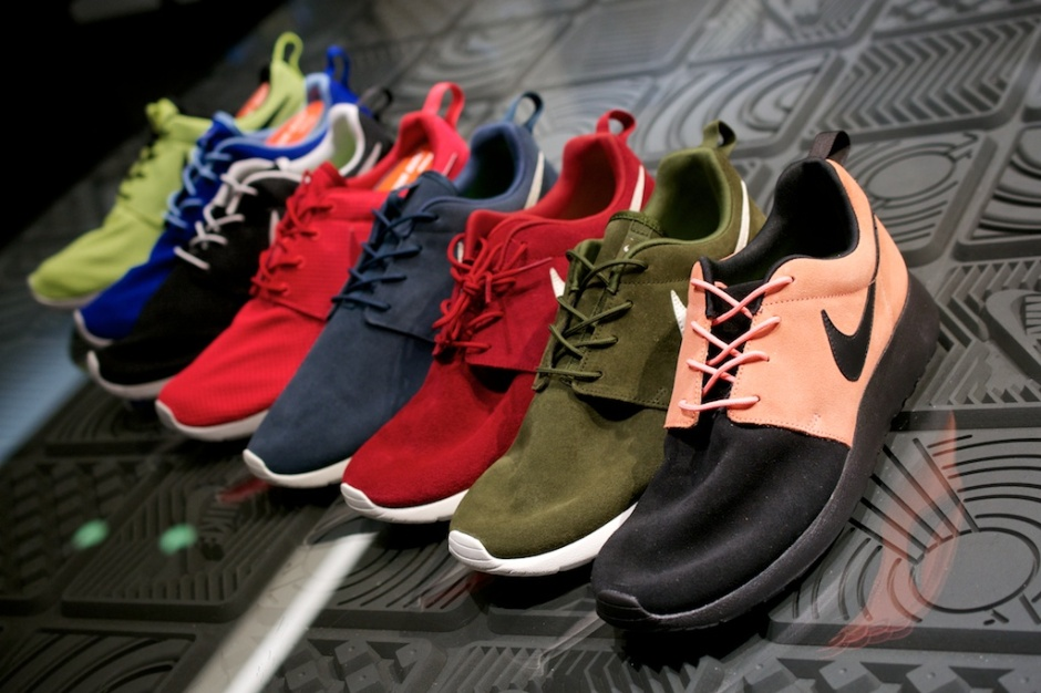 Nike Roshe Run iD Samples