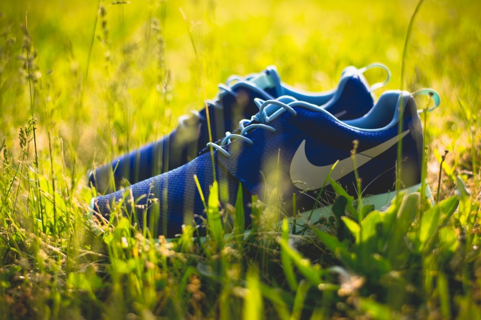 Nike Roshe Run iD Blue monday 1