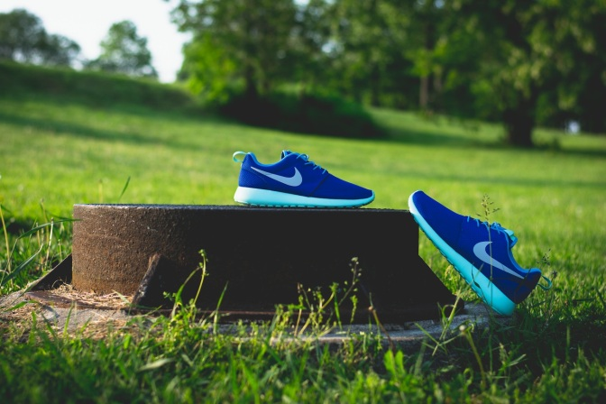 Nike Roshe Run iD Blue monday 10