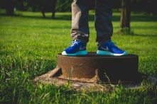 Nike Roshe Run iD Blue monday 16