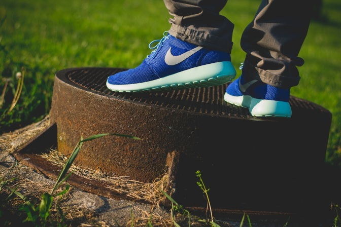 Nike Roshe Run iD Blue monday 17