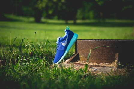 Nike Roshe Run iD Blue monday 3