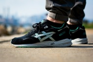 "F.O.T.B.: ASICS Gel Saga ""Black and Light Grey"""
