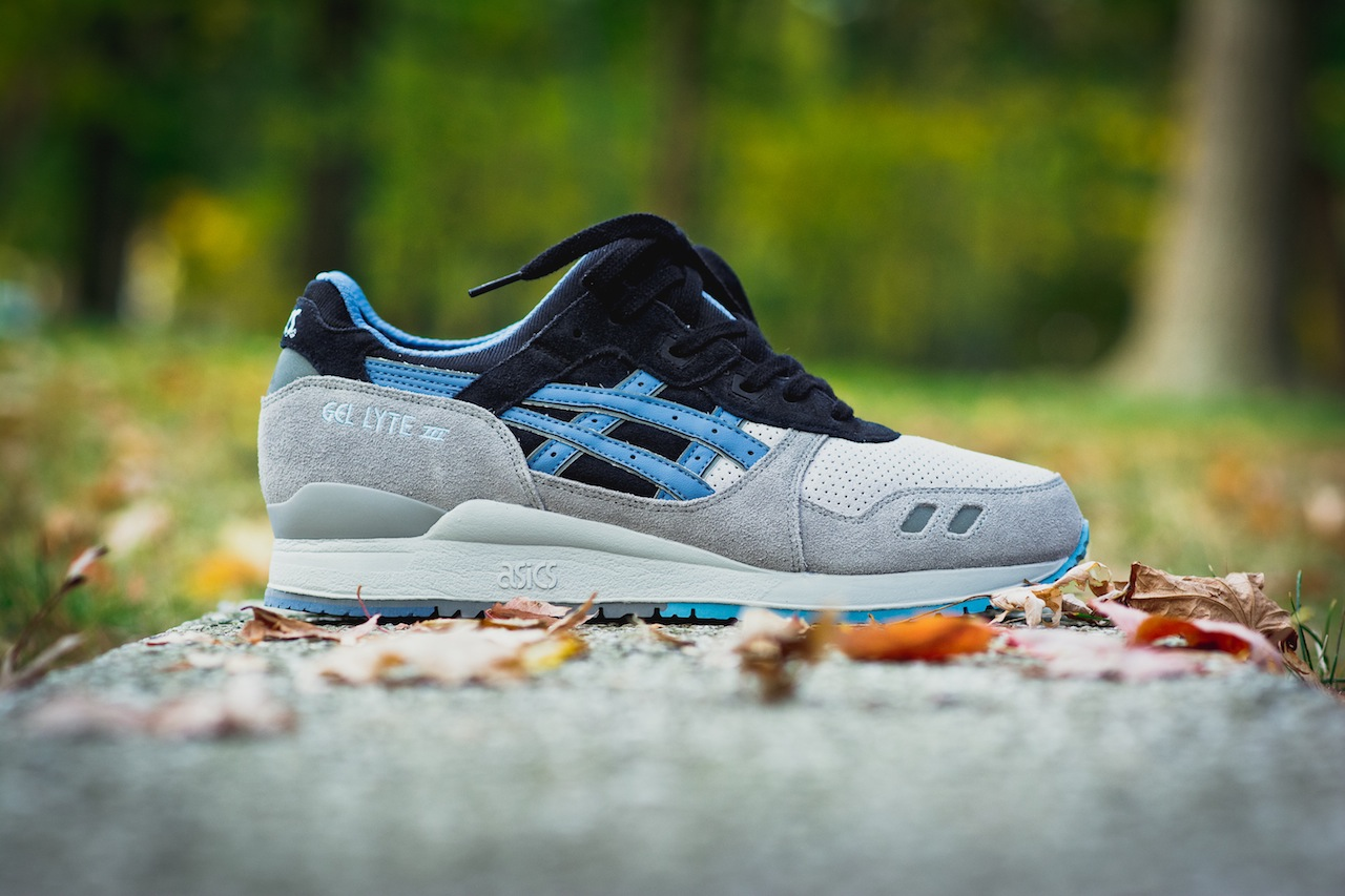 asics - gel lyte iii - captain blue (camo)