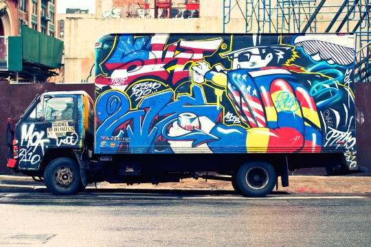 grafitti trucks 1