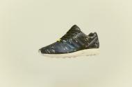 """F.O.T.B.: adidas ZX Flux """"Woodland Camouflage"""""""