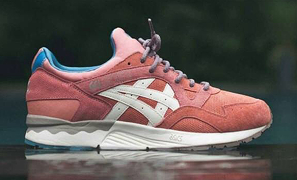 asics ronnie fieg glv rose gold