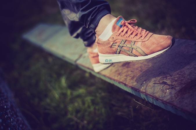 asics ronnie fige rose gold gtll