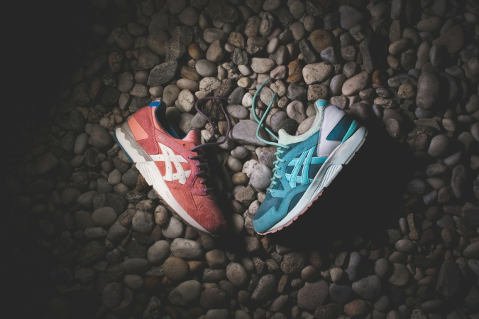 ASICS x Ronnie Fieg Gel Lyte V Rose Gold & Sage