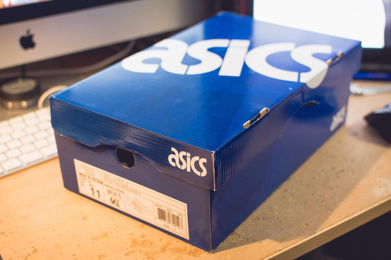 Asics Gel De Lyte V Zapatos - Azul Marino / Burdeos F3MPBq